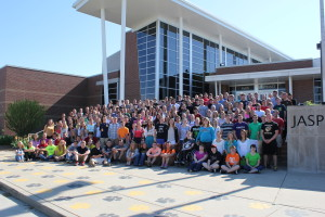 Jasper High School's senior class of 2013